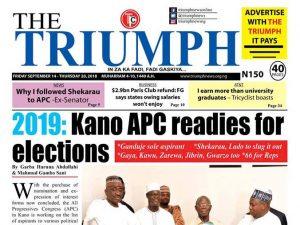 Triumph Newspaper