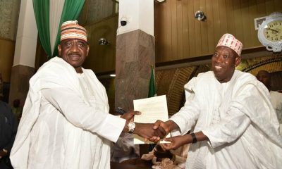 Abdullahi Abbas and Abdullahi Ganduje