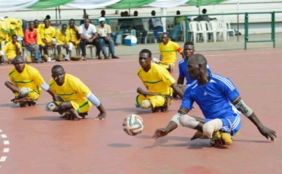 Kano Para-soccer team