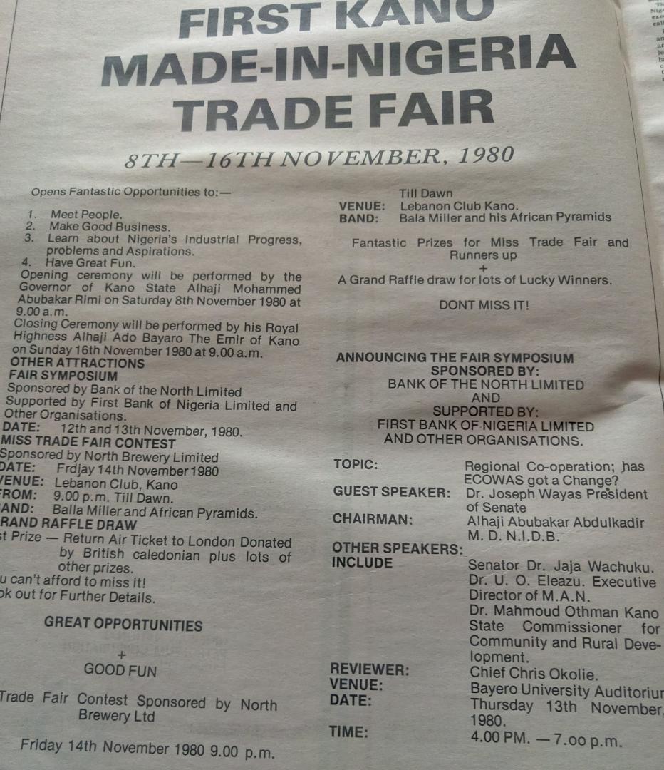 Kano Trade Fair