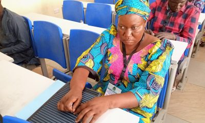 visually impaired UTME candidate