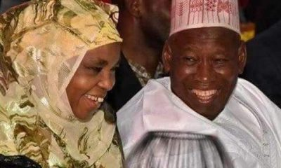 Mr and Mrs Ganduje