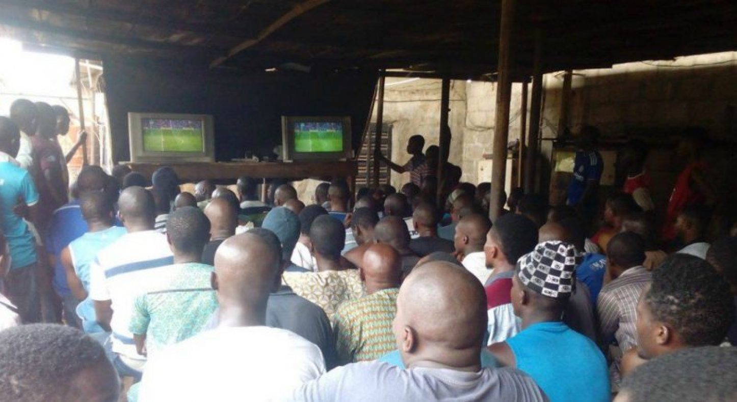 Football-viewing-centre