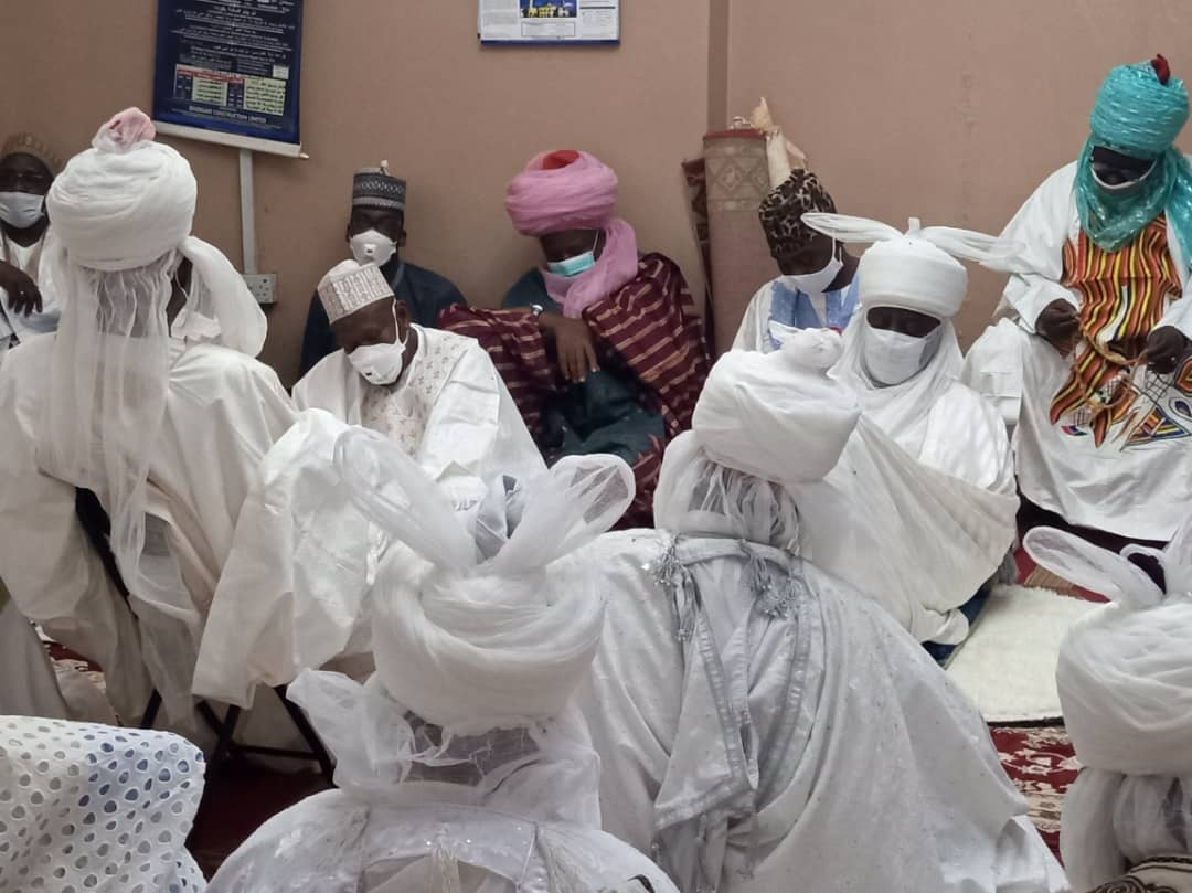 Ganduje at Bayero Memorial Prayer