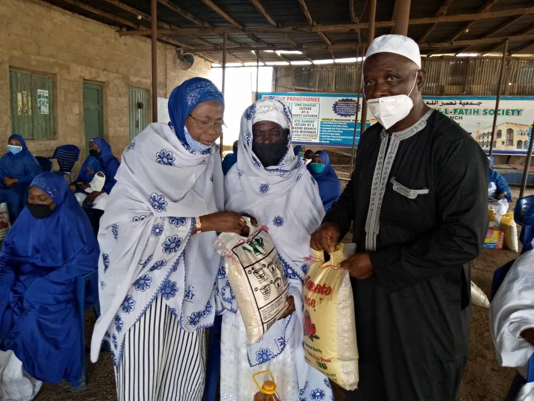 NASFAT Aisha gobiri and Imam Abdul Jalil Shoga