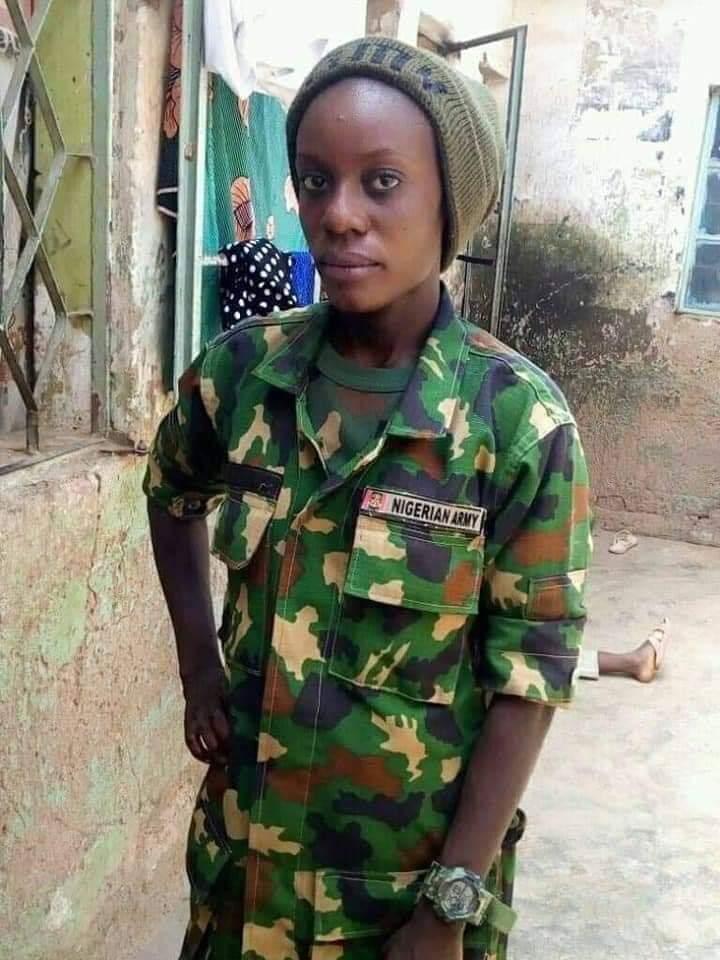 Private Amina Nuhu