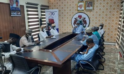 Kano Information Commissioner briefing journalists